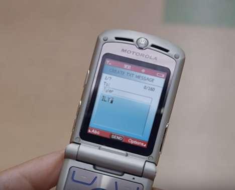 Nostalgia-Inducing Phone Ads