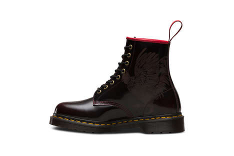 Chinese Zodiac Combat Boots - Dr. Martens' 1460 Boot Celebrates the Chinese New Year