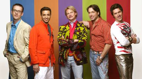 Revived Queer Fashion Series - Netflix's Queer Eye for the Straight Guy is a Reboot of the Original