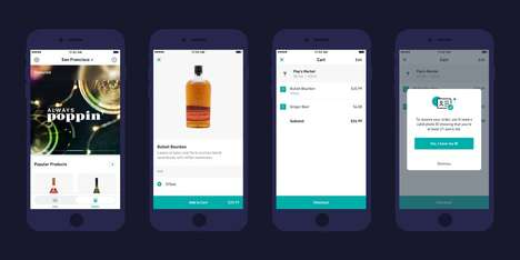 Alcohol Delivery Services - Postmates Alcohol Deliveries are Available in San Francisco and LA