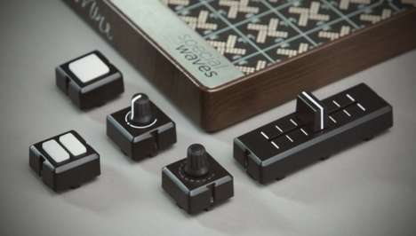 Modular DJ Controllers - The 'Mine' Modular Music Controller Can be Customized and Reconfigured