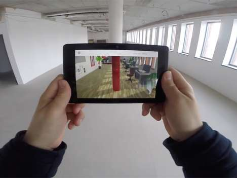 Immersive Interior Design Services - 'Emb3d' Uses AR and VR for Home Planning Visualizations
