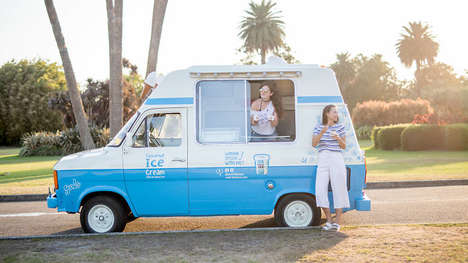 Vegan Ice Cream Trucks - 'Over the Moo' is Hitting the Road to Sell Its Coconut-Based Ice Cream