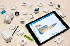 Multifunctional Maker Blocks - The 'Plezmo' Build Blocks Teach Coding and Enable Creativity