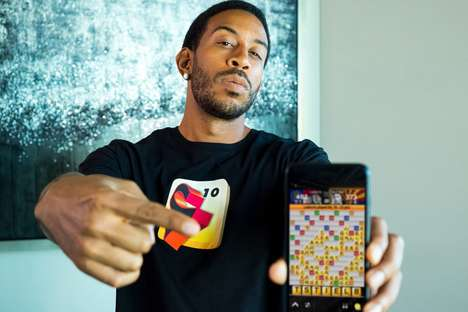 Rapper Word Game Apps - 'Slang N' Friendz' is a Word Game App Backed by Ludacris