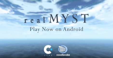 Mobile Adventure Puzzle Games - 'realMyst' Can Now Be Conveniently Played on Android Smartphones