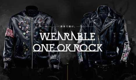 Wearable Music Jackets - 'One OK Rock' is Letting People Feel Their Newest Song on the Body