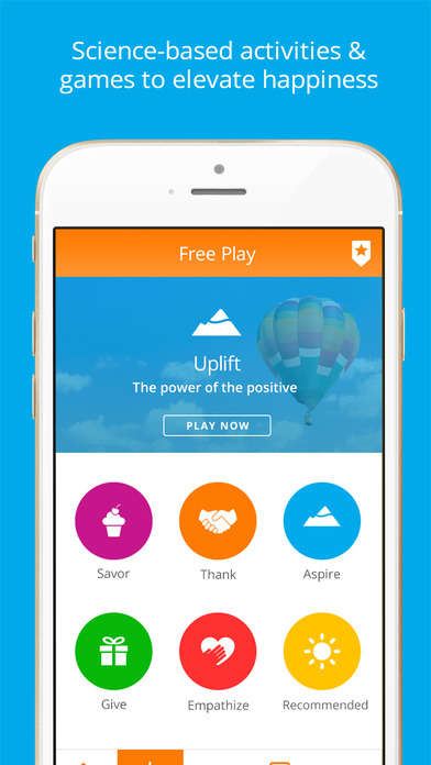 Science-Based Activity Apps - 'Happify' Reduces Stress and Anxiety Through Games, Quizzes and More