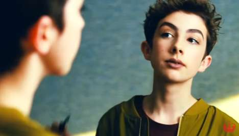 Male Makeup Brand Campaigns - Rimmel is Featuring Lewys Ball in Its Newest Marketing Campaign