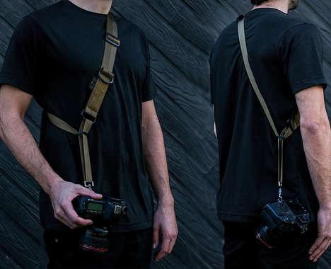 Military-Inspired Camera Straps