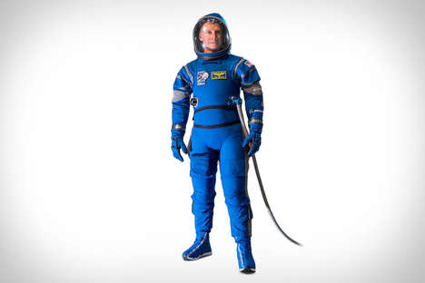 Futuristic Astronaut Space Suits - The Boeing Starliner Space Suit Offers Better Range of Motion