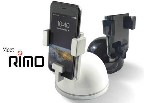 Videoconference Smartphone Mounts - The 'Rimo' Smartphone Camera Mount is Remote-Controlled