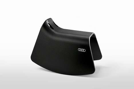Car Brand Rocking Horses - The Audi Rocking Horse Offers Young Ones an Auto-Inspired Seat