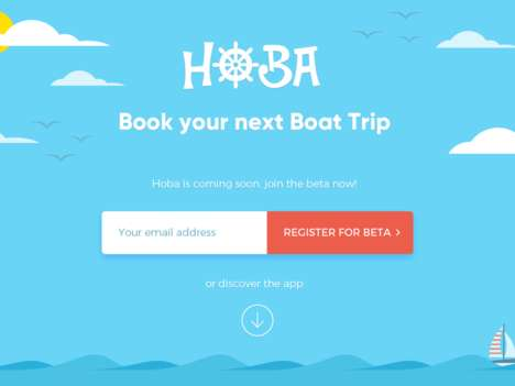 On-Demand Boating Apps - 'HOBA' Lets Users Book a Boat Trip Whenever They Want
