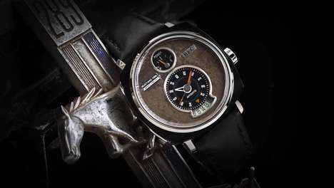 Salvaged Automotive Watches - REC Watches are Made from Recycled Classic Car Parts