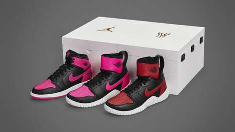 Tennis Legend Sneakers - These Limited-Edition Jordans Honor Serena Williams' 23rd Title Win