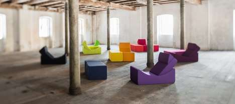 Chromatic Shapeshifting Furniture - The Lina 'Moon' Multifunction Furniture is Customizable