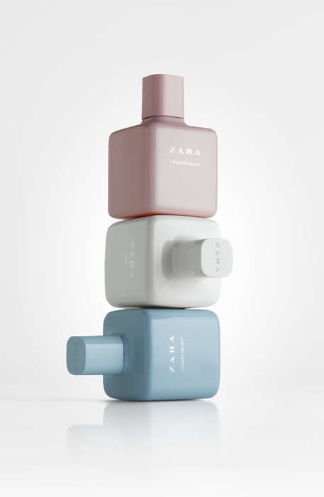 Cubic Opaque Perfume Bottles - The Zara Perfume Collection Was Redesigned for a Sophisticated Look