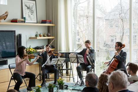 Intimate Pop-Up Concerts - Toronto's 'Pocket Concerts' Brings Live Music to Private Homes