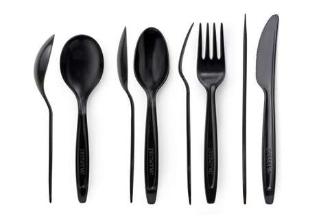Recycled Plastic Cutlery - This New Disposable Plastic Cutlery from Preserve is 100% Recycled