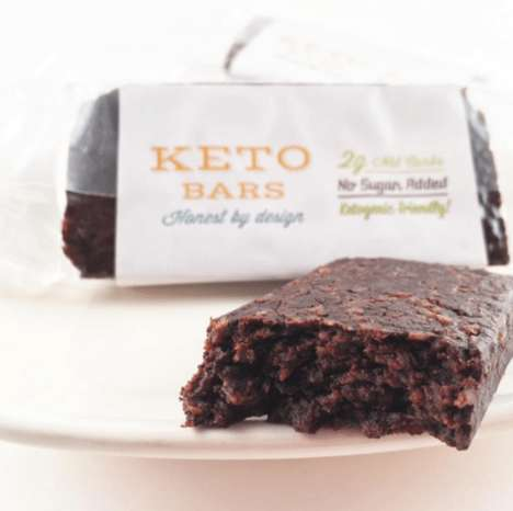 Keto Diet Snack Bars - Keto Bars are High in Fat and Protein but Low in Carbs
