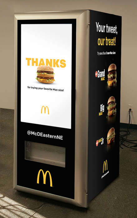 Burger-Dispensing ATMs - The 'Big Mac ATM' Offers a New Way to Order a McDonald's Burger