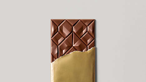 Geometrically Patterned Chocolates - 'Beau Cacao' Offers Chocolates With Unique Patterns