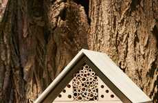 Wildlife World's Urban Bee House Doubles as a Compact Nest