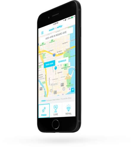 Car Wash-Summoning Apps - WashMyWhip is a Car Wash App Providing Convenient On-Demand Service