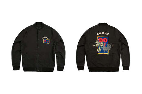 Zodiac-Inspired Stadium Jackets - This New Maharishi Collection Honors the Chinese New Year