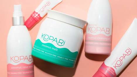 Sulfate-Free Coconut Skincare - Kopari Beauty's Organic Skincare Range is Gentle and Chemical-Free