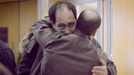 Syrian Family-Reuniting Ads - The Air Canada Commercial Brings a Syrian Refugee Family Peace
