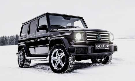 All Electric G-Wagons - The Arnold Schwarzenegger x Kreisel Electric G-Class is an Eco Luxury SUV