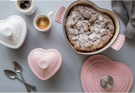 Heart-Shaped Stoneware - This Cookware From Le Creuset Includes a Romantic Heart Casserole Dish