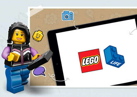 Social Building Toy Apps - The LEGO Life App Offers Projects, Customization and More