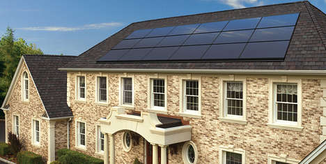 Roof-Integrated Solar Panels - The GAF DecoTech System is Integrated Directly into a Home's Roof