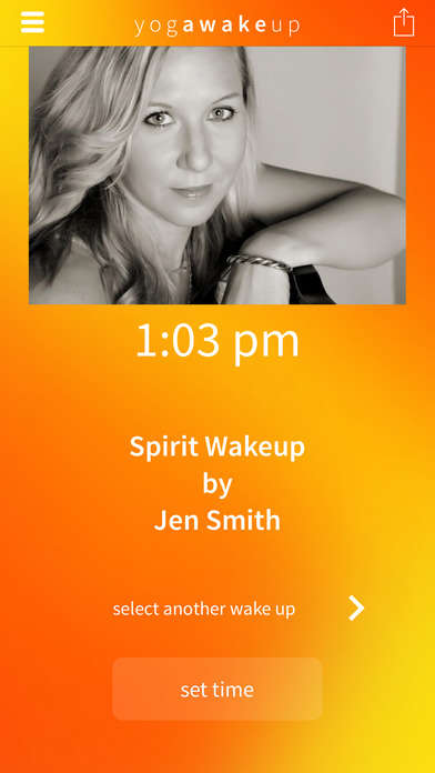 Mindful Wake-Up Apps - The 'Yoga Wake Up' App is a Gentle Alarm Clock Replacement