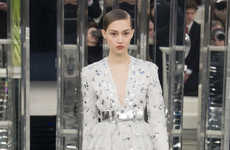 Feminine Power Runway Shows - The Chanel Spring Couture Collection Featured Strong Business Looks