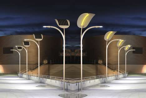 Pedestrian-Powered Street Lights - These Solar Street Lights Are Placed in Tourist-Filled Las Vegas