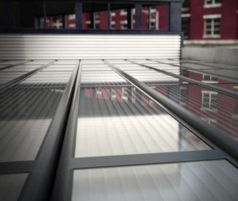 Energy-Generating Solar Panels - Senergy's Solar Panels are Used to Heat and Cool Buildings