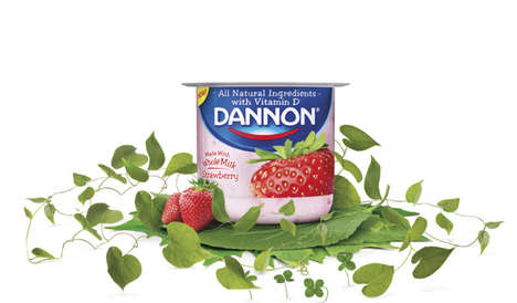 Commercial Coupon Campaigns - Dannon is Offering Mobile Coupons Through a New Television Ad