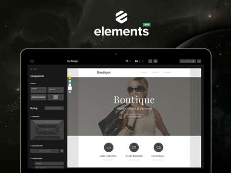Templated Email Startups - RocketWay Elements Offers a Design-Friendly Email Newsletter Template