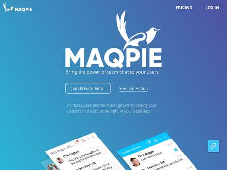 Messenger SaaS Startups - In Private Beta, Maqpie Offers a Full-Featured Team Messenger for Web Apps