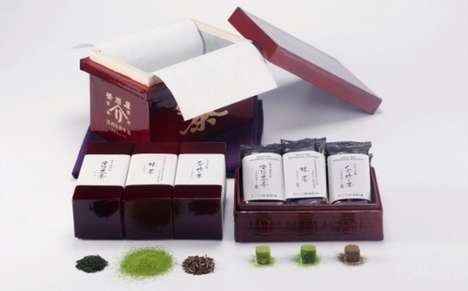 Luxurious Tea Chocolates - This $900 Box of Sweets From Japan Includes Tea-Infused Chocolate