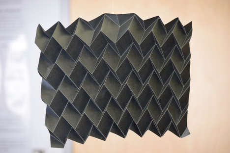 Origami-Inspired Space Radiators - This Shape-Shifting Radiator Design Uses Folded Paper Techniques