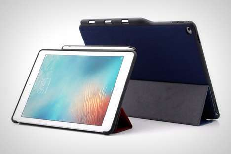 Docking Tablet Protectors - The 'ATECH' iPad Pro Cases Incorporates a Spot for the Apple Pencil