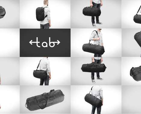 Variably Sized Travel Bags