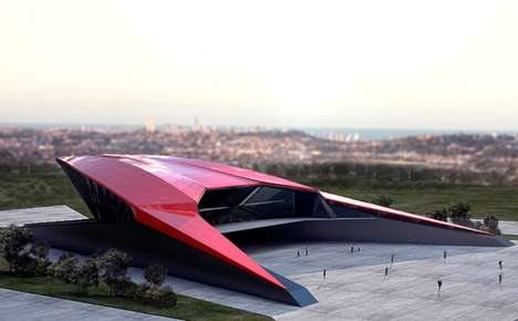 Futuristic Supercar Museum Buildings - The Lamborghini Museum Draws Inspiration from the Vehicles