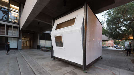 Homeless Shelter Pods - Homes for Hope Works Around Los Angeles' Zoning Laws