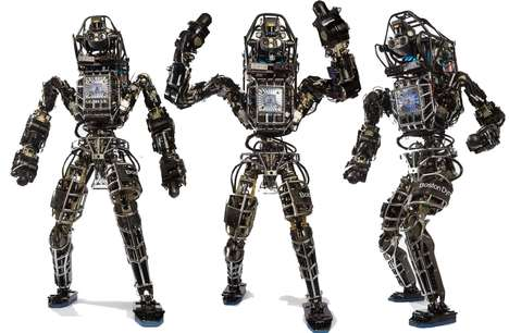 Wheeled Jumping Robots - The Boston Dynamics Handle Robot Combines Legs and Wheels
